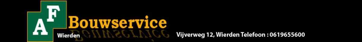 A.F. Bouwservice Wierden